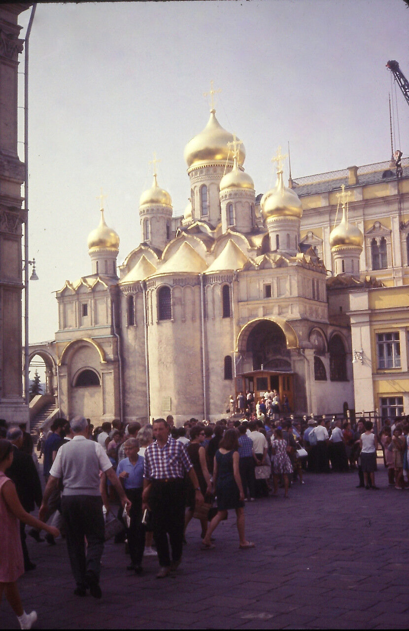 Annunciation Cathedral, Kremlin, Moscow, USSR 1966