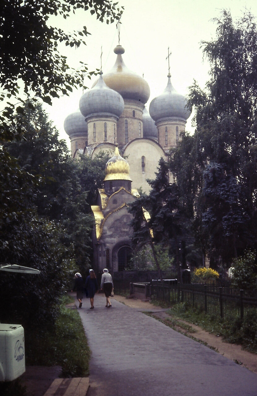 Novodevichy Monestary, Moscow, USSR