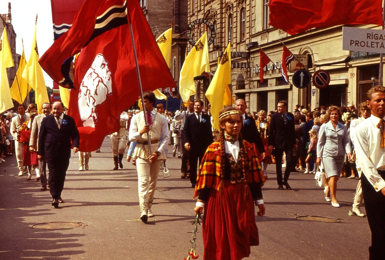 21. Праздник  песни - 1973