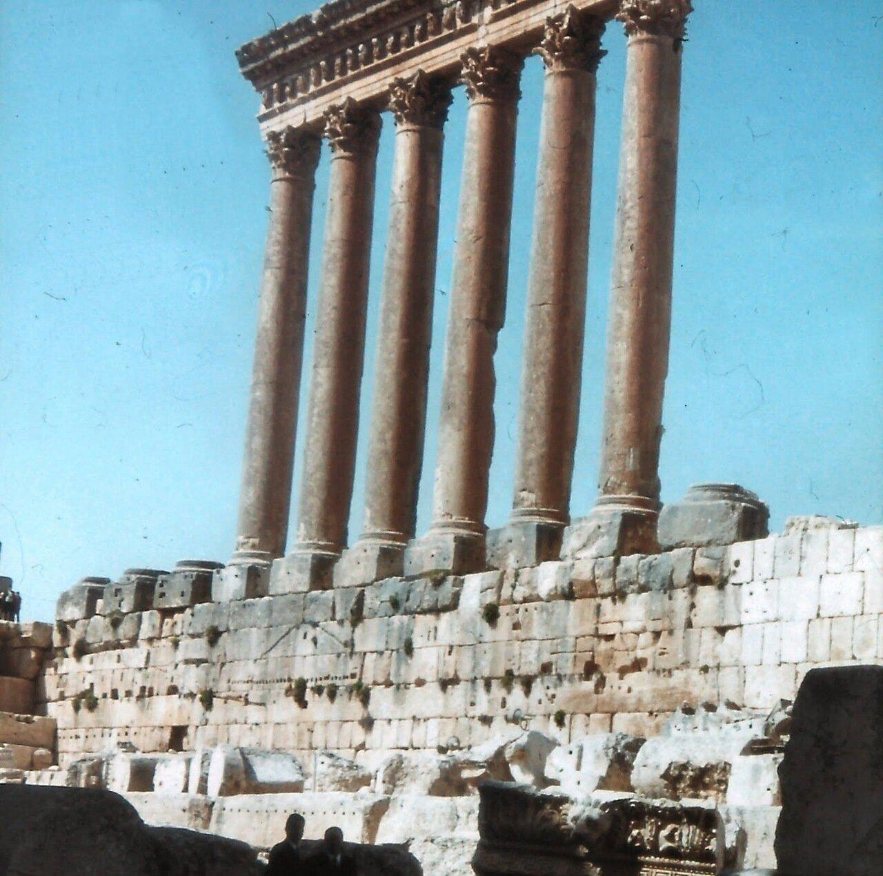Baalbek est l'ancienne Héliopolis des Romains