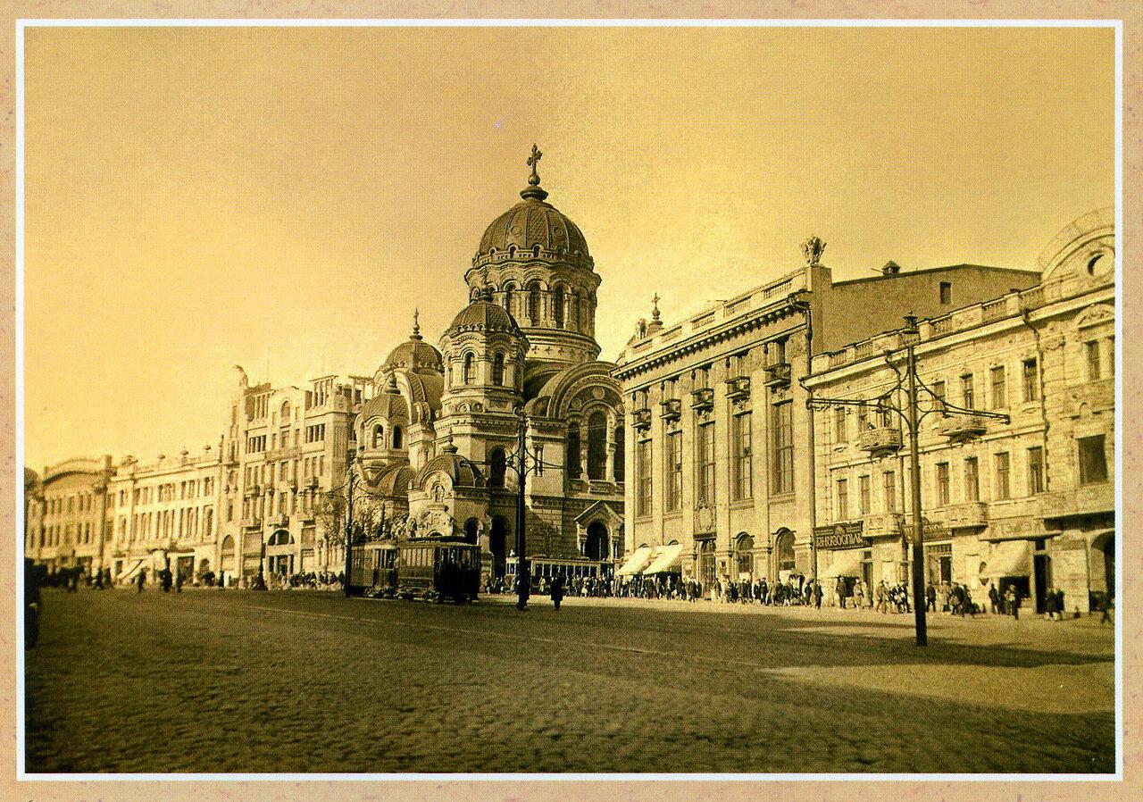 Николаевская площадь и Николаевская церковь