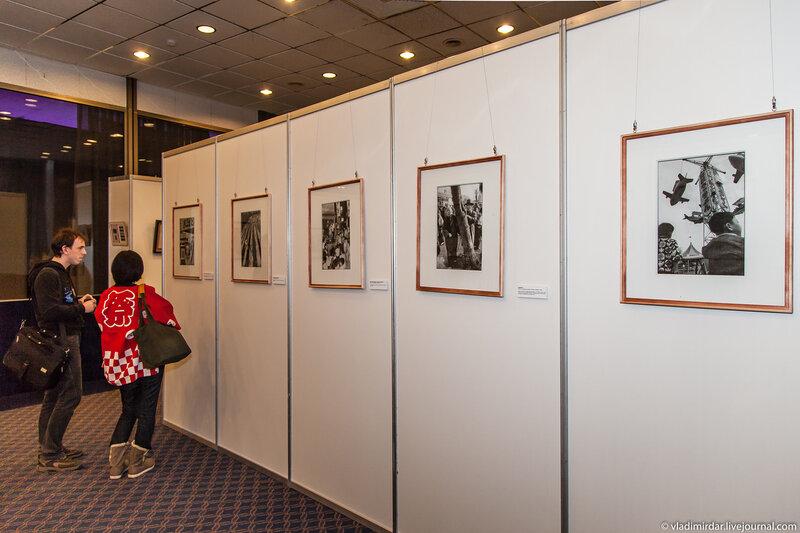 На фотовыставке Такэо Акияма