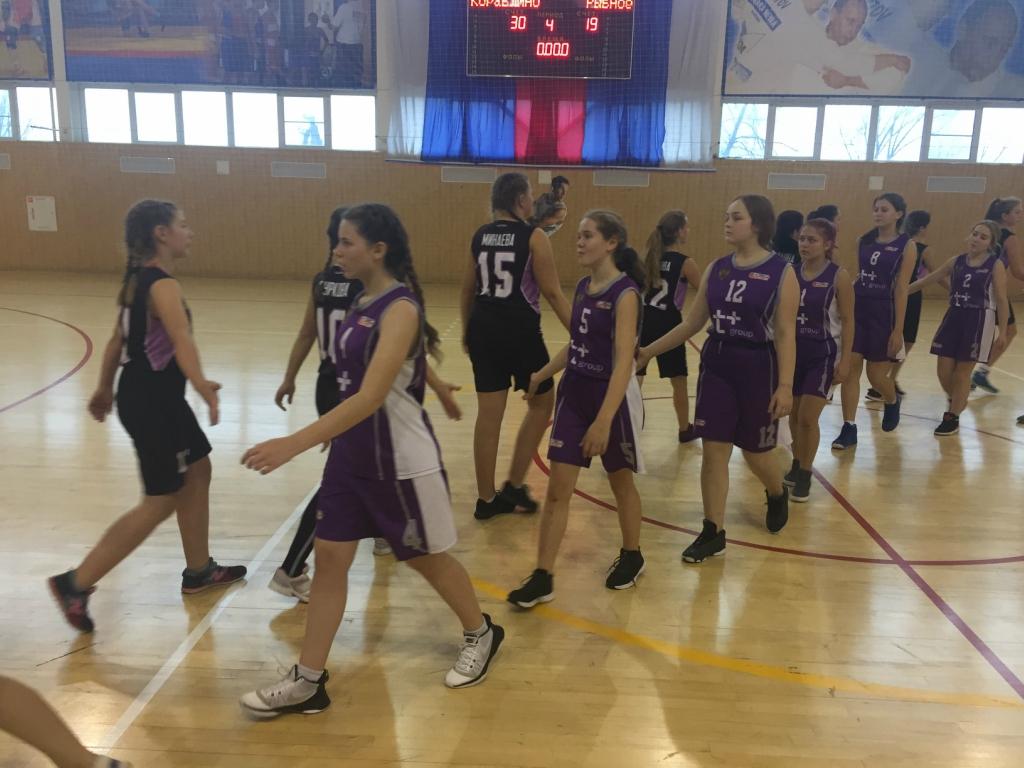 14 апреля 2018 года в ГАУ ДО «ДЮСШ «Рекорд» состоялась игра в первенстве Рязанской области по баскетболу среди девушек 2000-2002 г.р. «Детская лига»