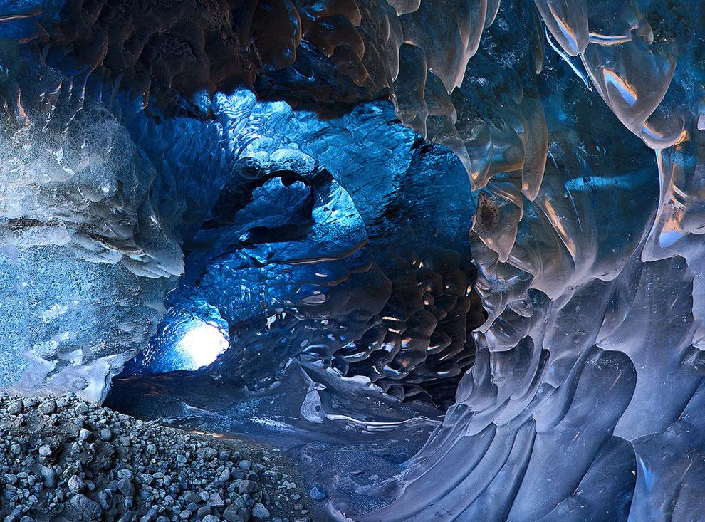 заповедник Исландия лед