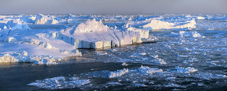 Айсберги у Шпицбергена (19 фото)