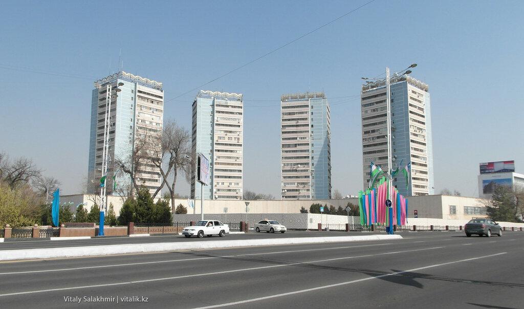 Дома близнецы, Ташкент, Узбекистан
