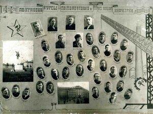 1931 г. ДВ Краевые курсы по подготовке в В.Т.У.З. набора Индустрии.