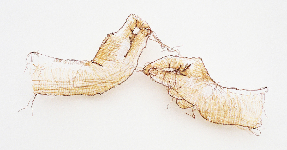 Stitched Sculptural Installations of Everyday Objects and Gestures by Amanda McCavour