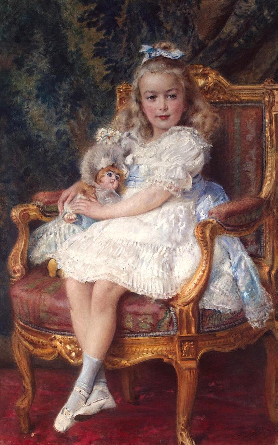 Портрет великой княжны Марии Николаевны_х.,м._Санкт-Петербург, Эрмитаж.