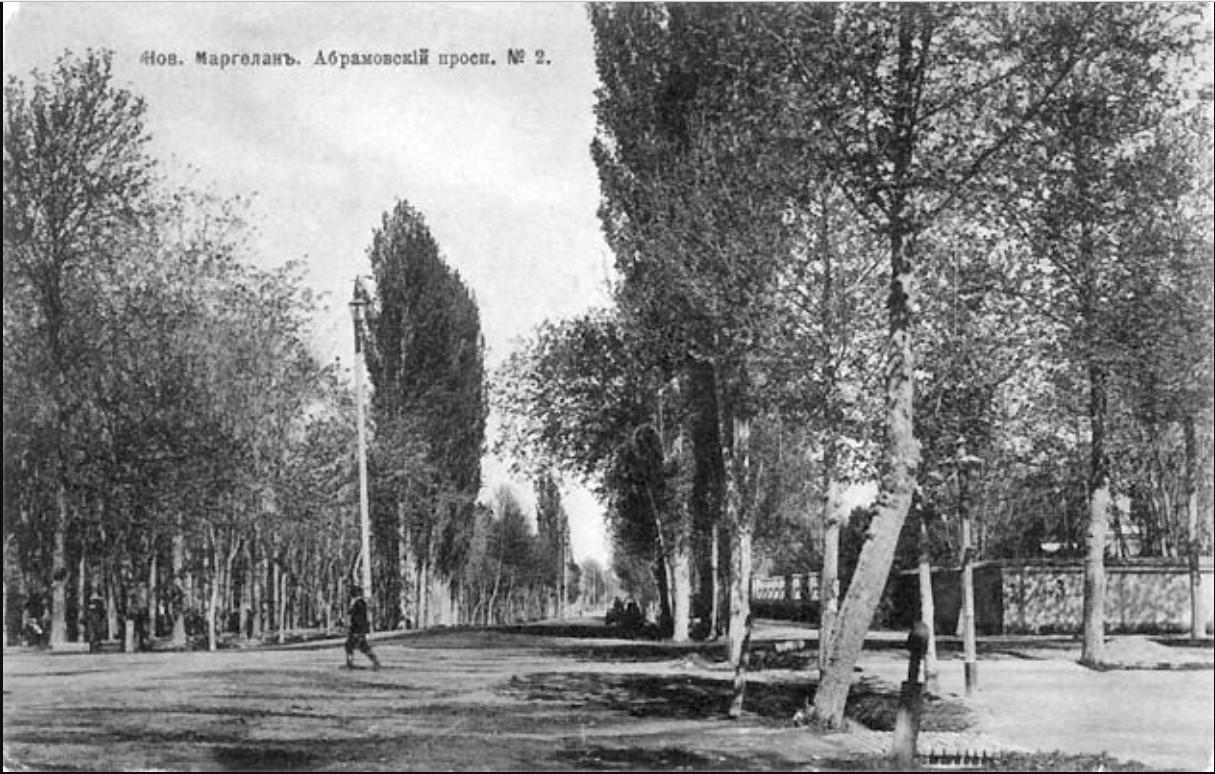 Новый Маргелан. Абрамовский проспект