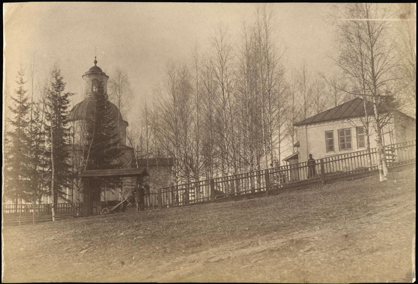 Каменная часовня Прокопия Устюжского в Котовалове