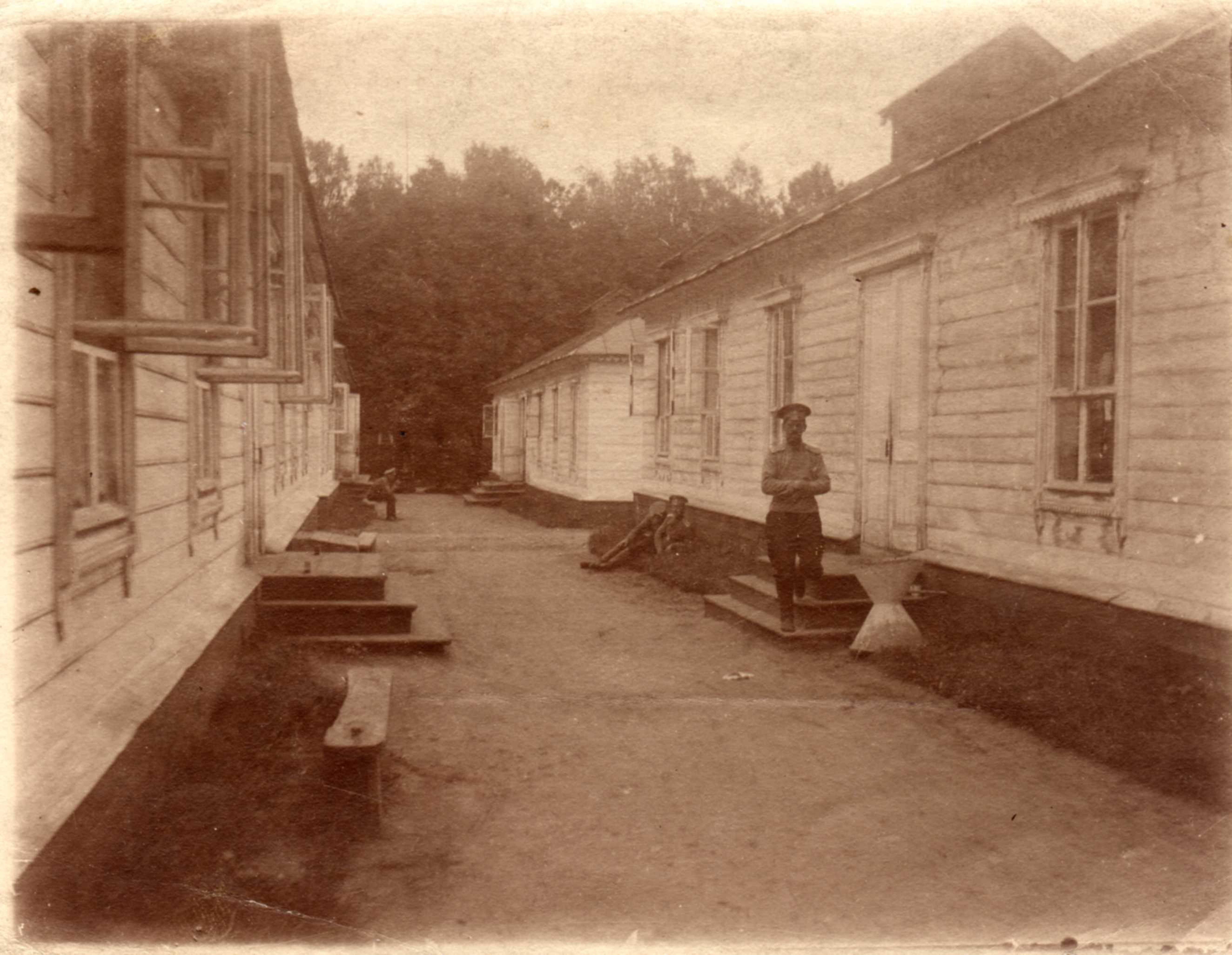 1910. Лагерь кадетского корпуса