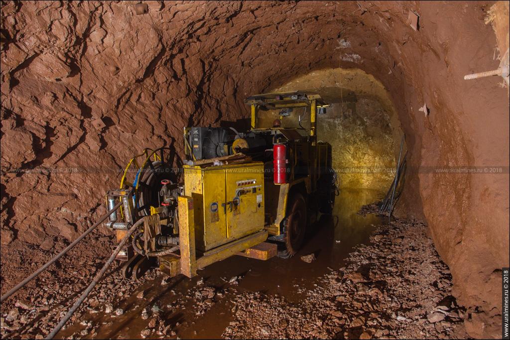 Североуральский бокситовый рудник шахта Ново-Кальинская