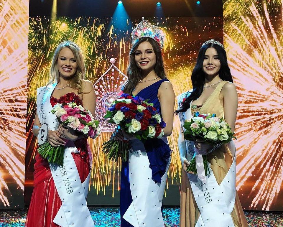 Обладательницей титула «Мисс Россия 2018» стала Юлия Полячихина