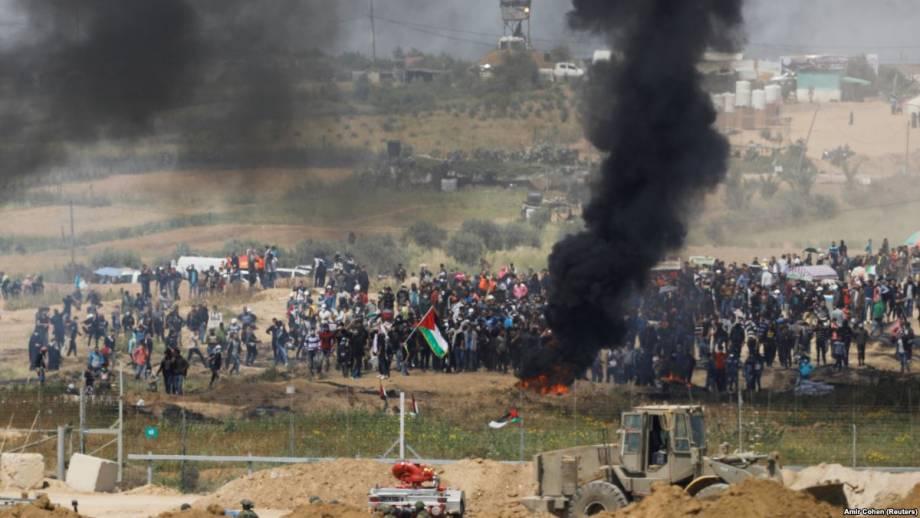 Новые столкновения возникли на границе Израиля и сектора Газа