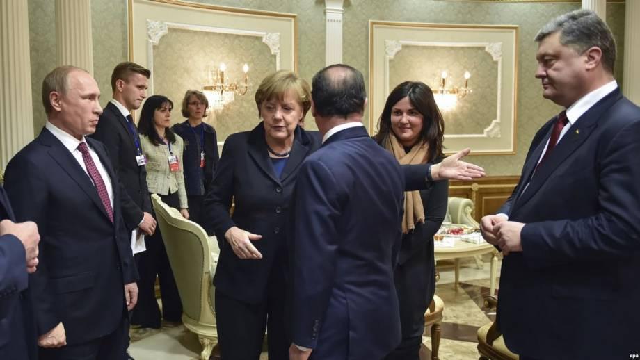 Донбасс и встречи без Путина: «нормандский формат» или «нормандская декорация»