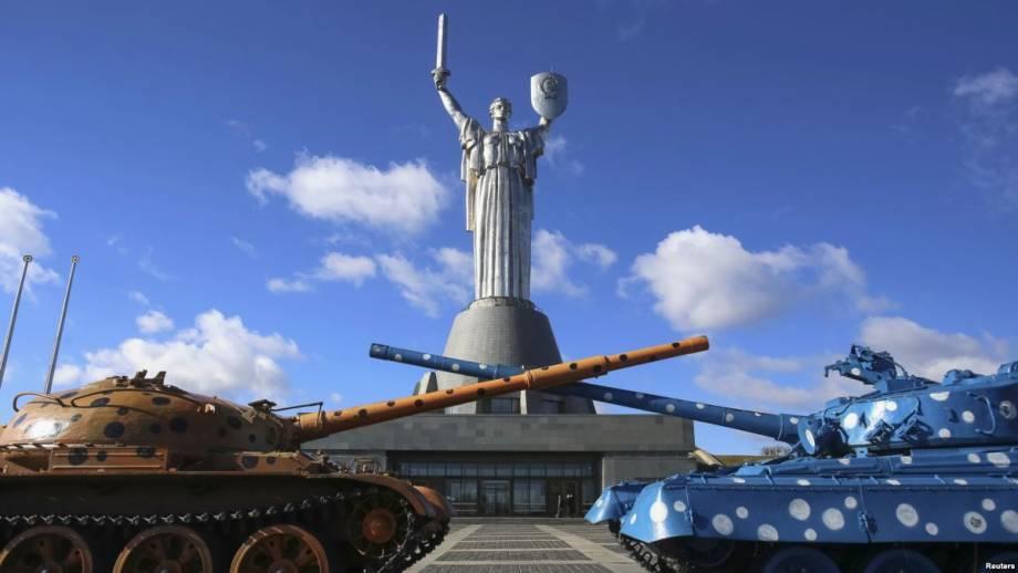 В Киеве на монументе «Родина-Мать» открыли смотровую площадку на высоте более 90 метров