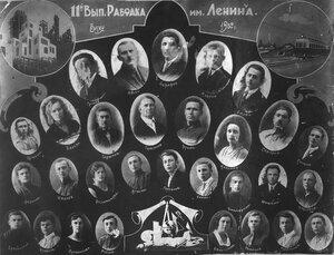1932 г. Рабфак им. Ленина. 11-й выпуск