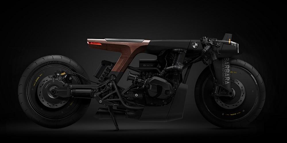 Barbara Custom Motorcycles: концептуальные зарисовки кастомов в Фотошопе