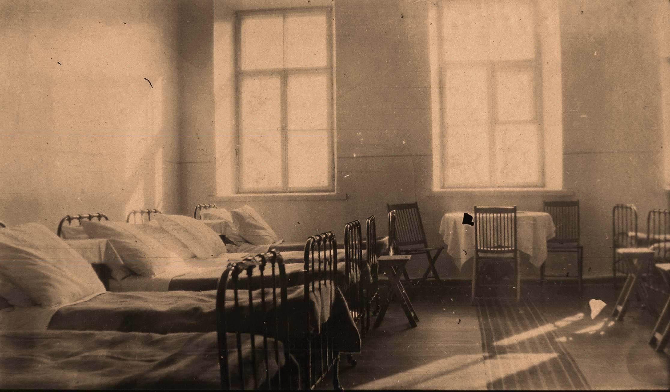 08. Внутренний вид палаты для офицеров