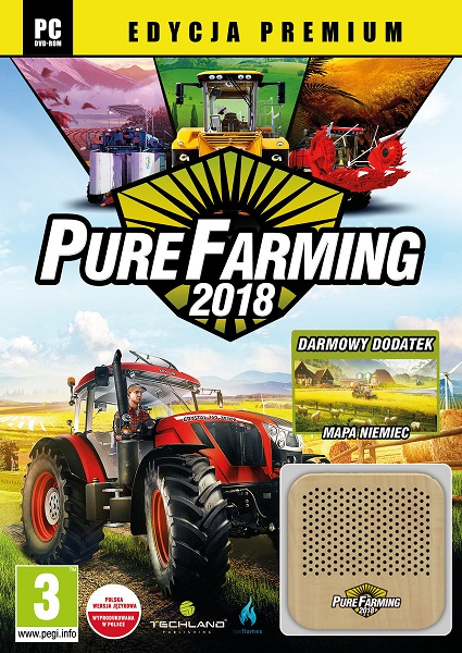 Pure Farming 2018: Deluxe Edition (2018/RUS/ENG/MULTi/RePack by xatab)