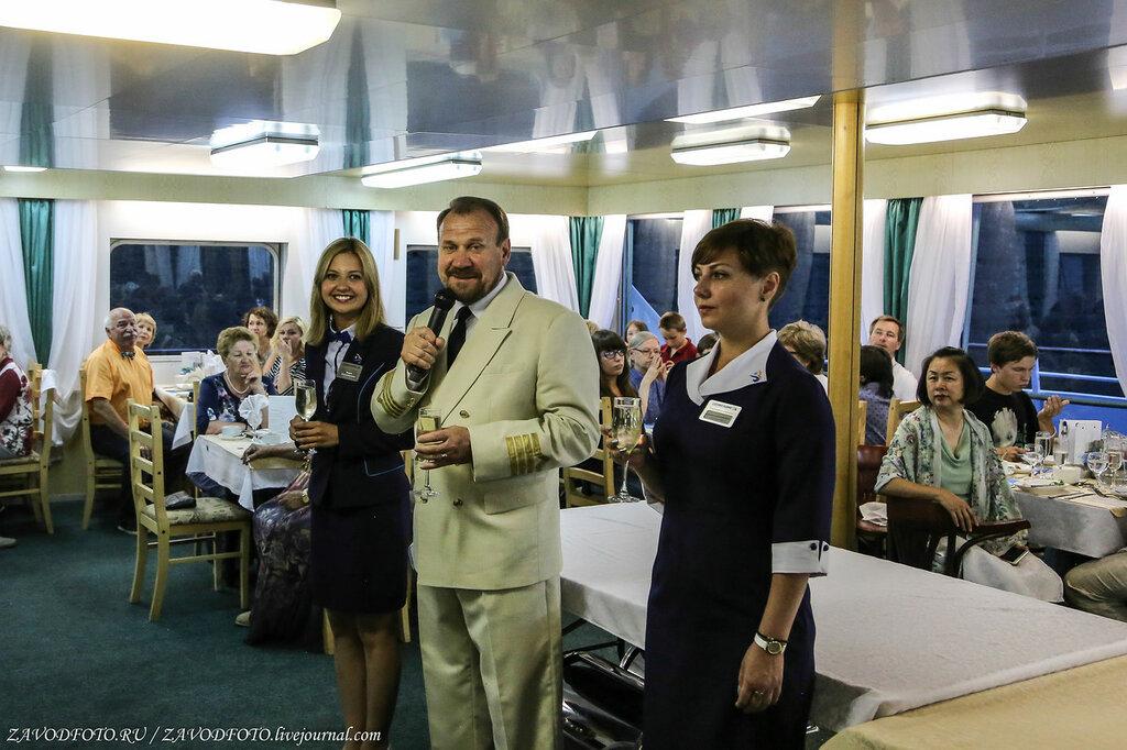 """Как мы не голодали на теплоходе """"Дмитрий Фурманов"""""""