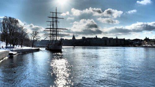 Стокгольм остров Skeppsholmen
