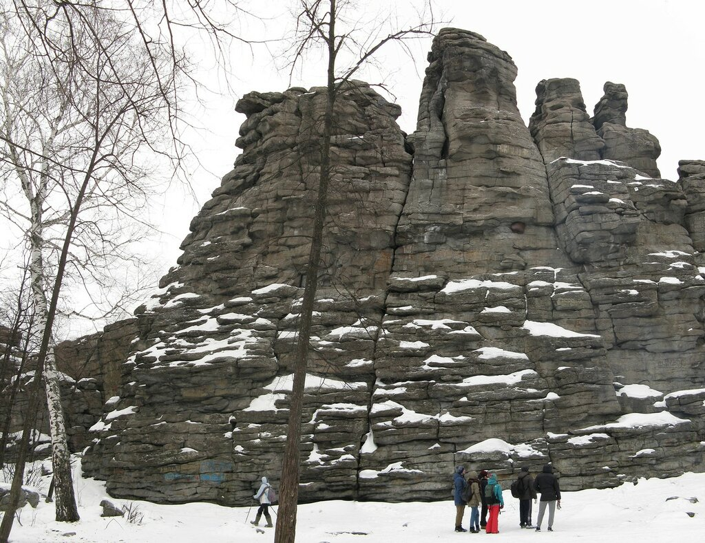 Поход на скалы 'Семь братьев'