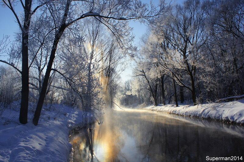 Паровоз и морозное утро на Яузе которые, вдоль, сказать, состоит, находится, увидеть, утром, музея, фотоохоты, можно, между, Небольшая, замечательный, паровозах, Щелковского, музей, который, зашла, Мытищинского, Алексеевского