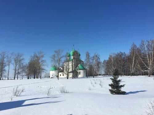 Храм-памятник Сергия Радонежского на Красном холме