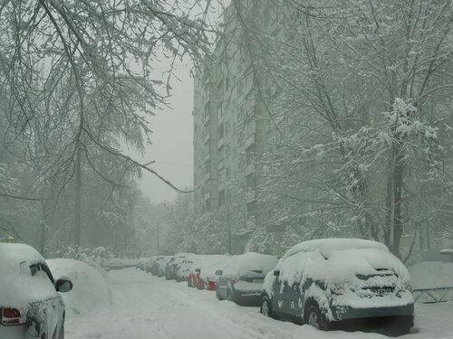 Городской пейзаж. Мытищи Автор: Юрий Семенов