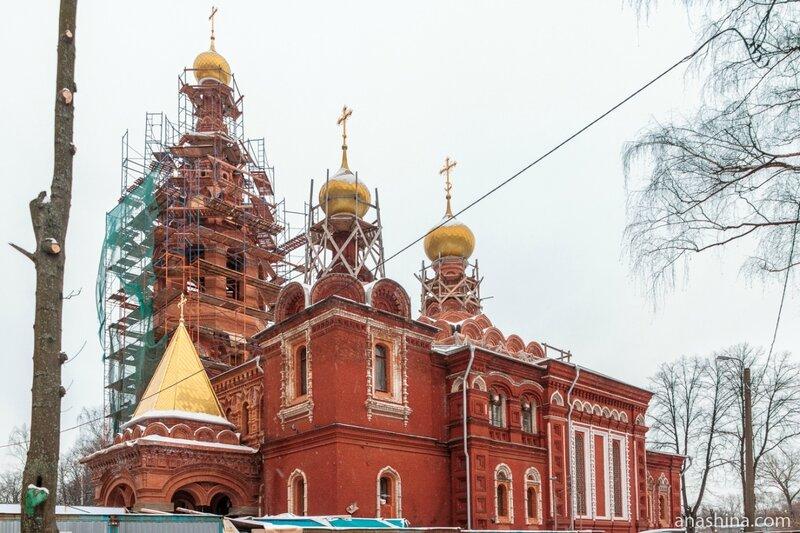Храм Живоначальной Троицы при бывшем приюте Бахрушиных, Москва