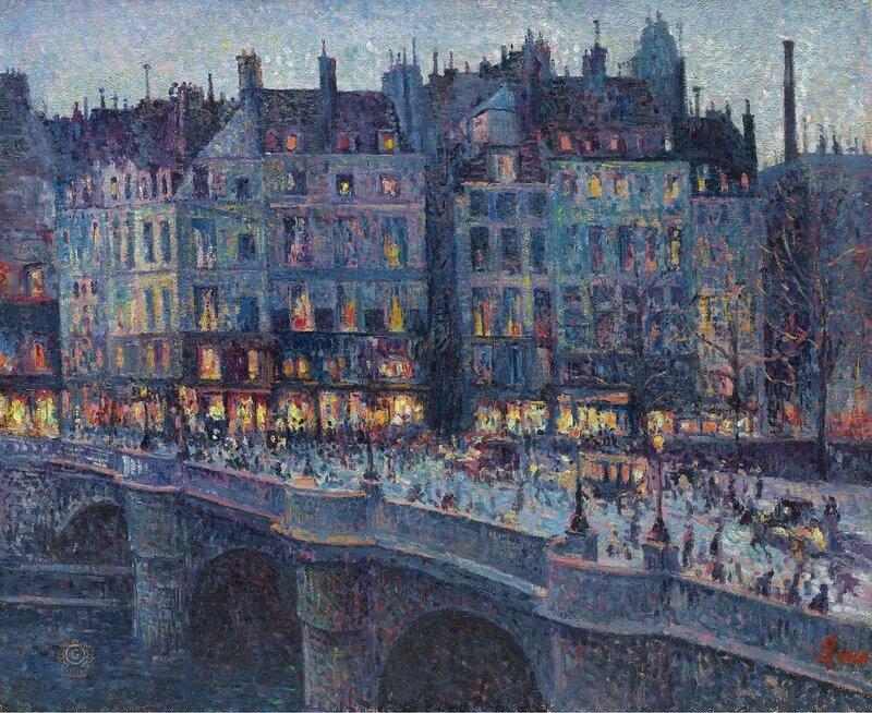Люс, Максимильен - The Quay Conti, 1894