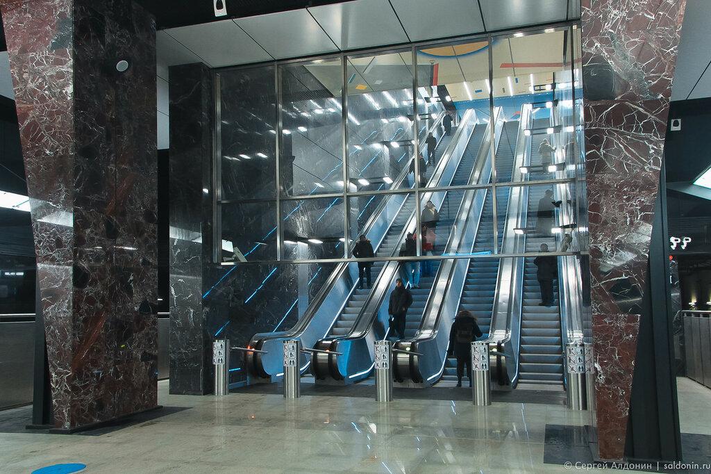 Станция метро Хорошевская. БКЛ.