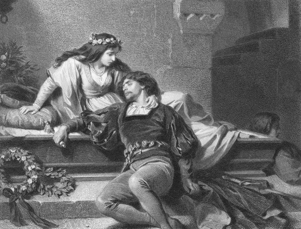 death in william shakespeares romeo and juliet As romeo watches juliet, entranced, a young capulet, tybalt, recognizes him, and is enraged that a montague would sneak into a capulet feast he prepares to attack, but capulet holds him back soon, romeo speaks to juliet, and the two experience a profound attraction.