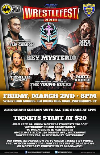 Post image of NEW Wrestlefest XXII