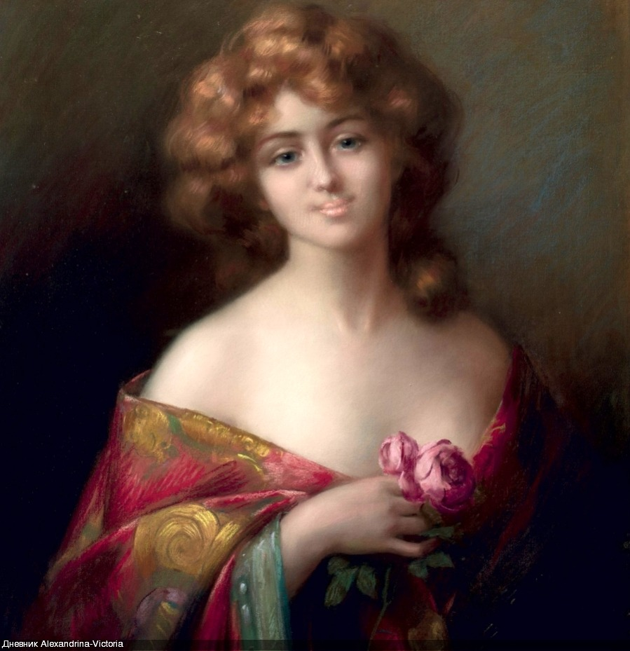 Аукционное в коллекцию... Delphin Enjolras (French, 1857-1945)... О, Женщина! Вершина мироздания!