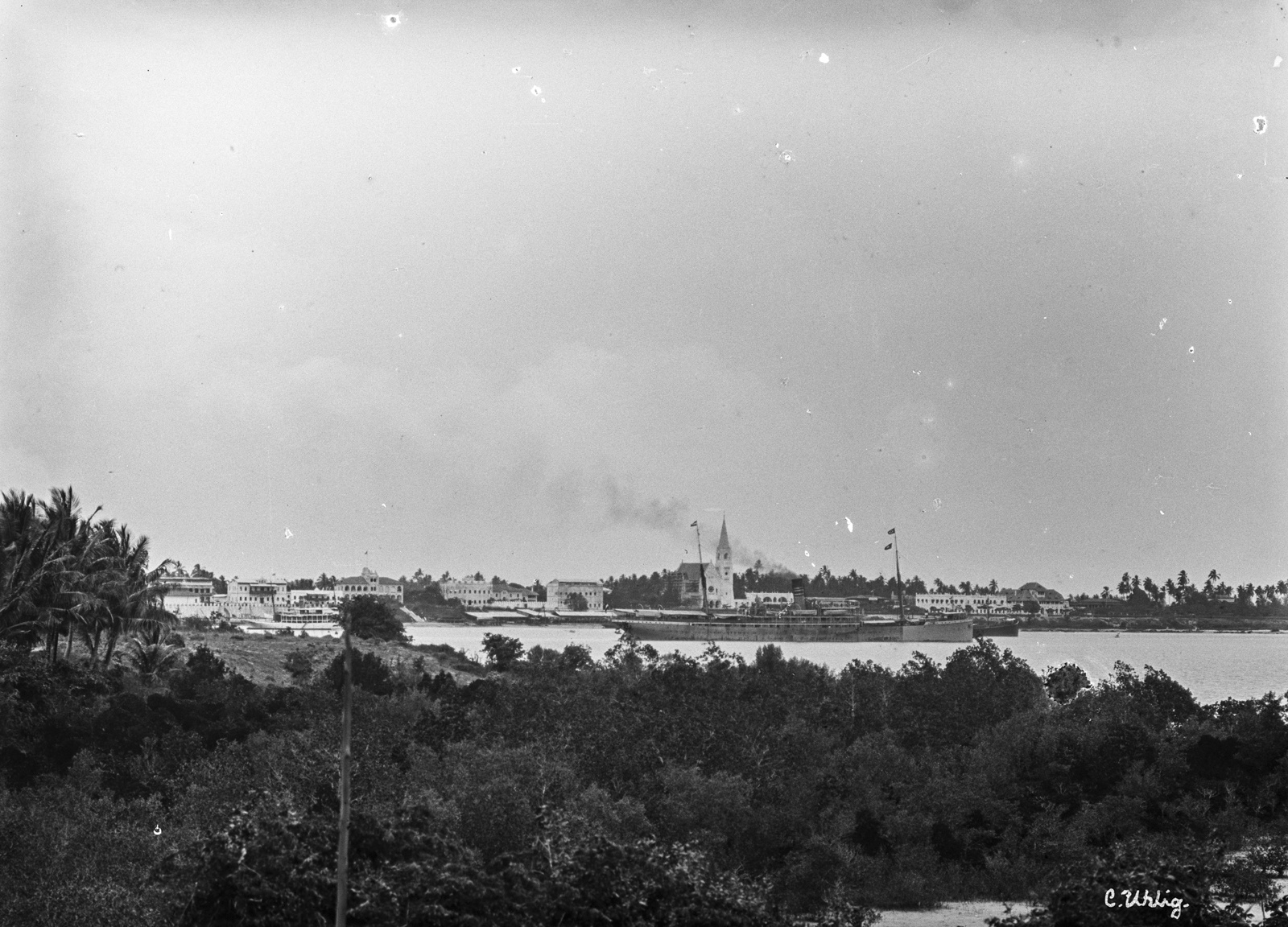 134. Городской пейзаж Дар-эс-Салама