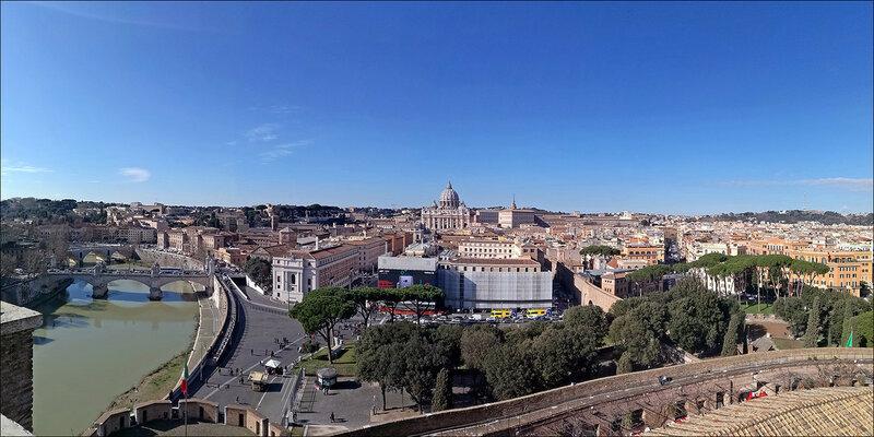 Рим: смотровые площадки