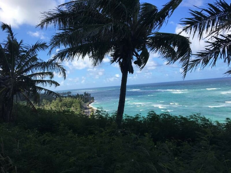 Восточный берег гавайского острова Оаху.
