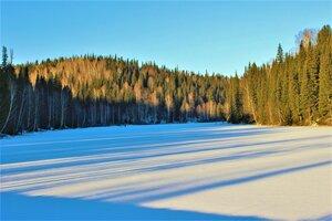Длинные синие тени декабря