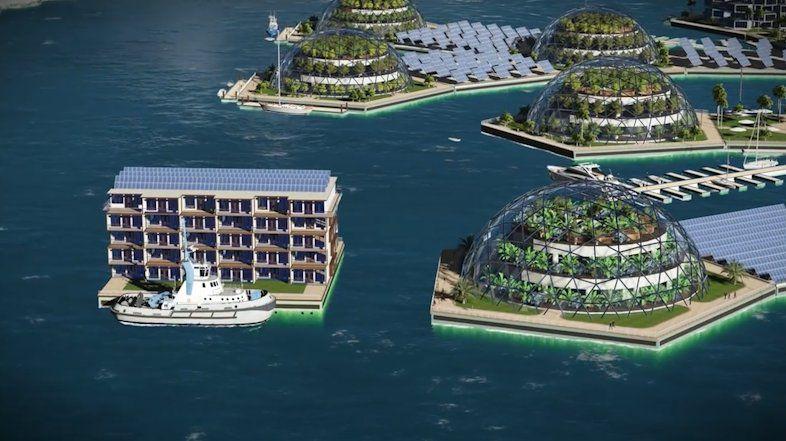 архитектура вода город креатив фотоподборка