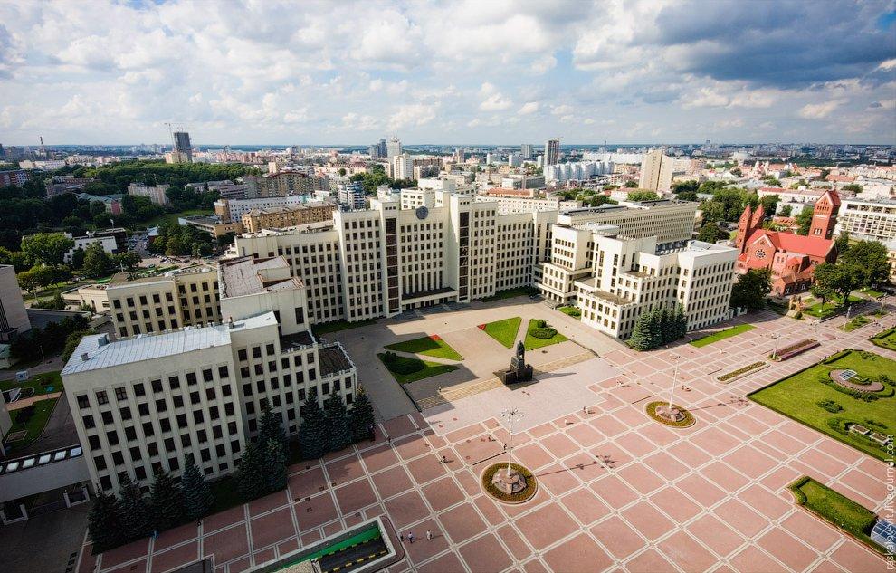 Белоруссия высота города