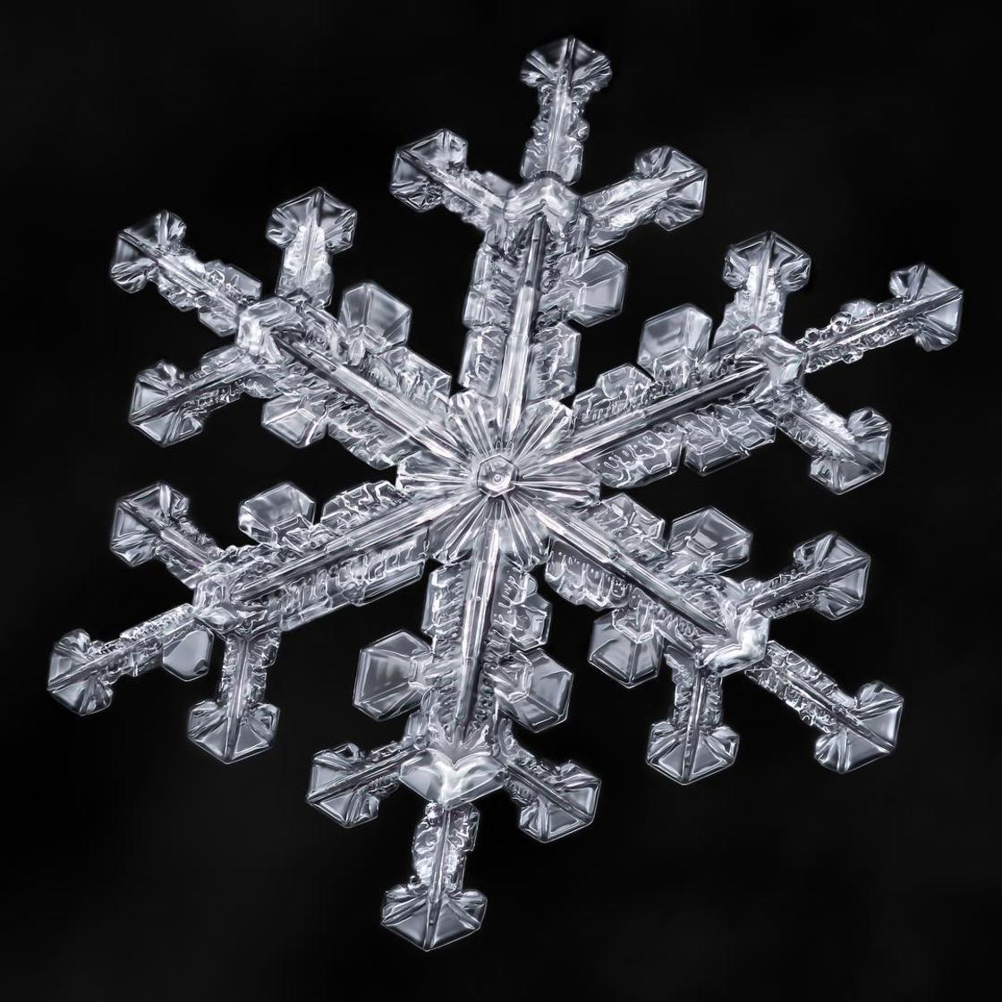 Sky Crystals – The fascinating beauty of snowflakes (22 pics)