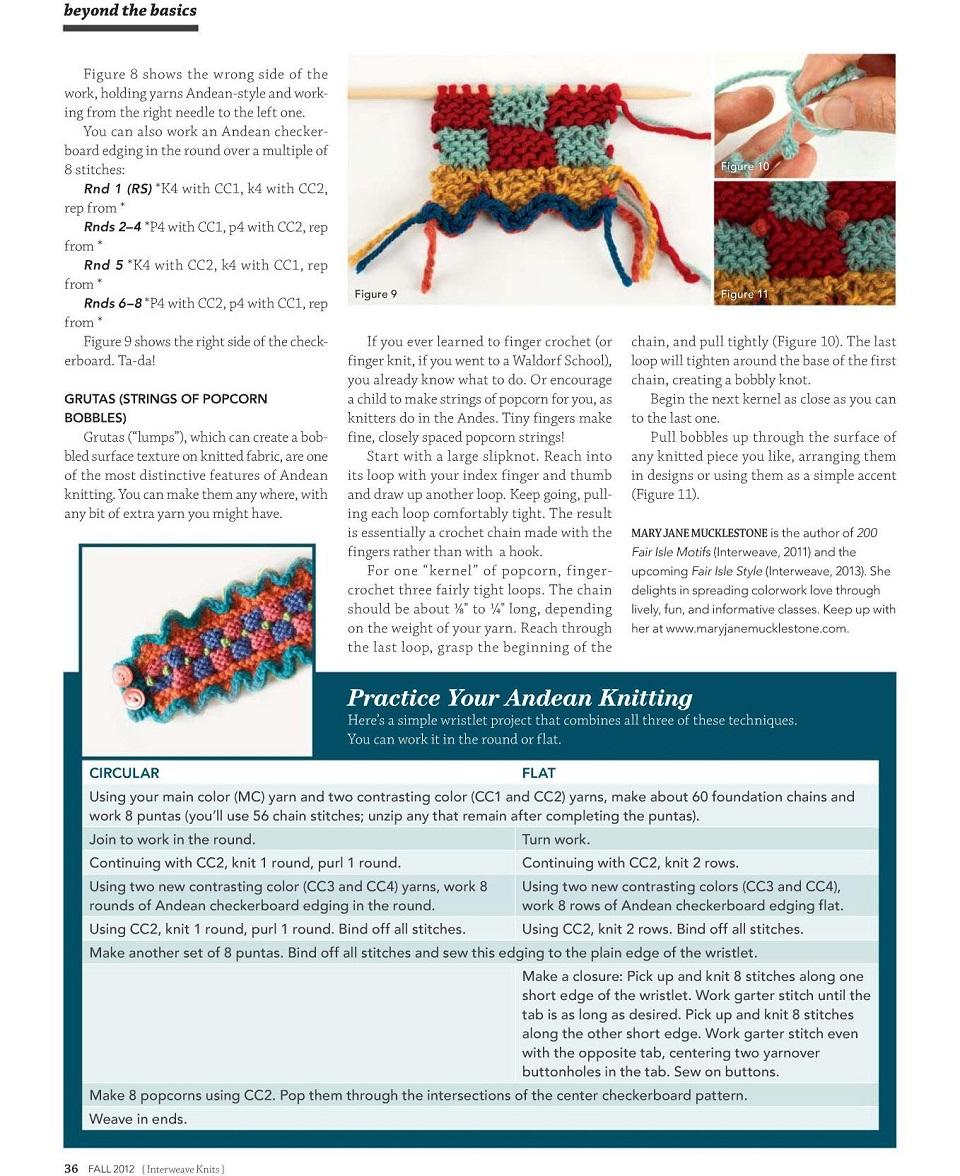Interweave Knits - Fall 2012-ng