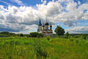 Церковь Успения в селе Иваниши