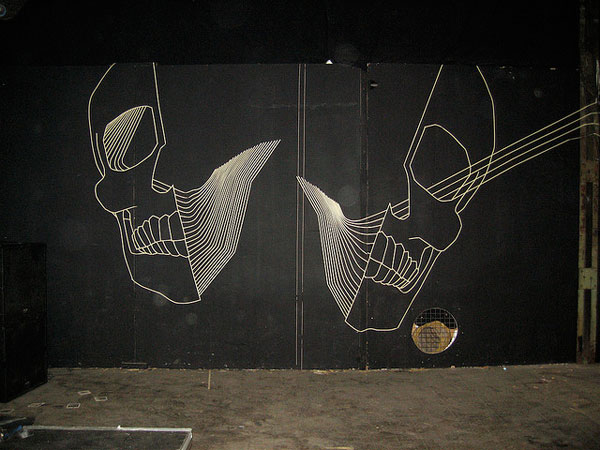 Tape Street Art - BUFFdiss