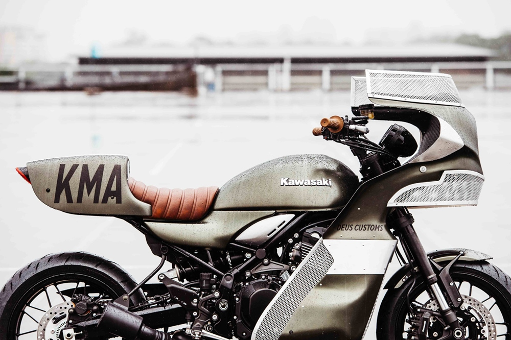 Deus Ex Machina: кастом Kawasaki Z900RS Goose