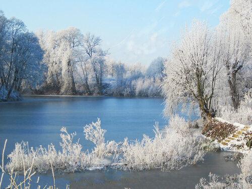 У замерзшего озера...3