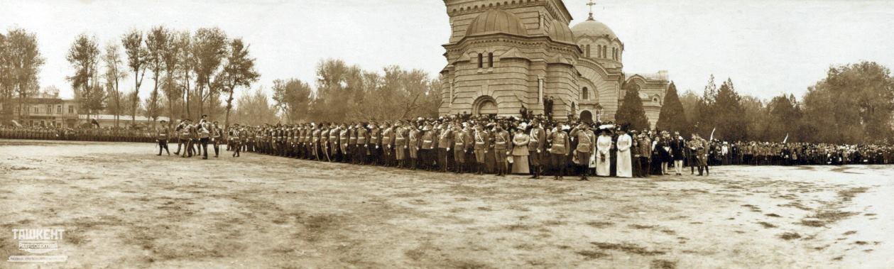 Военный Спасо-Преображенский собор. 1907